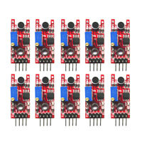 10PCS Sound Detection Sensor Module Sensor 5V DC Compatible With Arduino