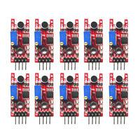 10PCS Sound Detection Sensor Module Sensor 5V DC Compatible With Arduino
