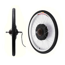 "UK STOCK Motor 26"" 48V Electric Bicycle E-Bike Front Rear Wheel Conversion kit"