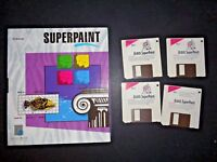 Vintage Working Tested Superpaint 3.5 for Macintosh Graphics Software 1986 Disks