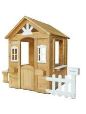 Lifespan Kids Teddy Cubby House V2 - Natural Timber (LKCH-TEDV2NT)
