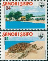 Samoa 1978 SG506-507 Turtle Conservation set MLH