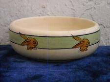 Roseville Juvenile Creamware Rabbits Cereal Bowl