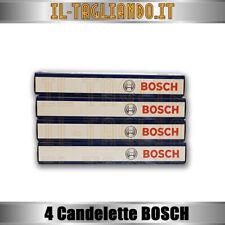 4 Candelette Lancia Lybra 1.9 jtd 85kw 115cv e Musa 1.9 D Multijet 74kw Bosch