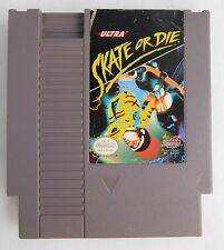 SKATE OR DIE (1988, Nintendo Entertainment System) NES Cartridge CLEANED TESTED
