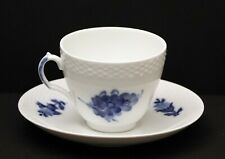 Royal Copenhagen Blue Flowers Braided Cup & Saucer