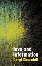 Love and Information by Caryl Churchill (2013, Paperback)