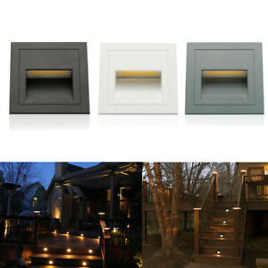 3W 85-265V Outdoor Led Step Light Embedded Staircase Corner Wall Lamp Stair IP65
