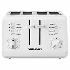 Cuisinart Compact 4-Slice Toaster White Brand New