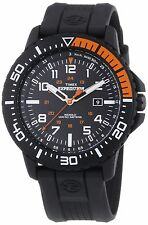 Timex Expedition Men's T49940 Quartz Watch with Black Dial Analogue Display a...