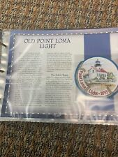 Large Patch Great American Lighthouses Patch In Sleeve Willabee Old Point Loma