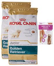 2x12kg Royal Canin Golden Retriever Junior + 80g Fleischsnacks