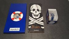 LOT OF 3 NEW SPECIAL SWATCH WATCH FOR REPAIR / SPARES Nº4 JAMES BOND