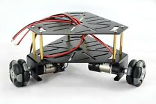 3WD 48mm Omni Wheel Robot Kit chassis(with encoder)Black 15001B
