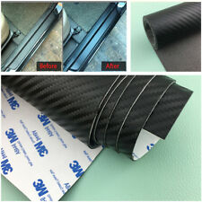 Carbon Fiber Leather Style Scuff Plate Door Sill Cover Car Threshold Step Guard(Fits: Ford Windstar)