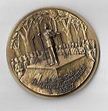 Medaille Aus Bronze Deans Ferdinand Cabanne Medizin Antik Landhaus Münzen Altertum Münzen