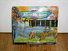 Rare Vintage Micro Machines Aliens Collection 2 moc Galoob Brand New & Sealed
