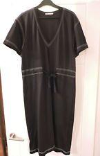 Zara - Black dress with white stitch detail - size 12-14