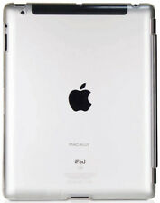 MACALLY CLEAR SMARTMATE HARD BACK CASE FOR APPLE iPAD 2 3 4 (FOR SMART COVER)