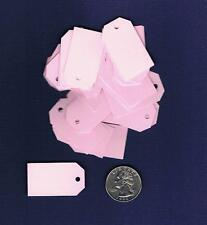 100 Small Blank Price Tags Pink Gift Tags Easter Baby Shower