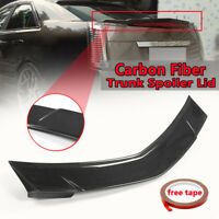 Real Carbon Fiber Rear Trunk Spoiler Wing For Cadillac CTS 4Dr Sedan 2008-2013
