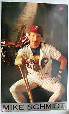 Vintage NIKE Baseball Poster Mike Schmidt Philadelphia Phillies VHTF PDC Stock