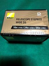 Nikon Field Scope DS Eyepiece 16x 24x 30x Wide DS Spotting Scopes BDB90097 F/S