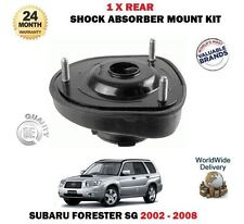 FOR SUBARU FORESTER 2.0 2.5 2002-2008 1 X REAR SHOCKER TOP SUSPENSION MOUNTINGS