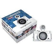 Fotocamera Lomography LOMO Fisheye 2 White Knight - KIT COMPLETO