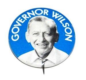 1973 MALCOLM WILSON GUBERNATORIAL Campaign Pinback Button pin governor political
