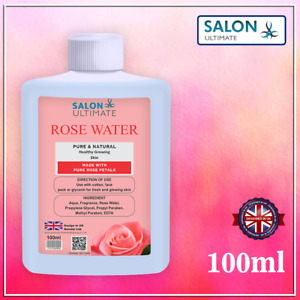 100% Pure Natural Rose Water Toner, Cleanser, Moisturizer For Fresh Face 100ML