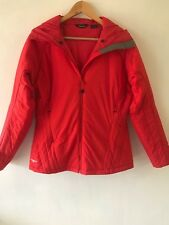 BERGHAUS : SZ 12 capucin insulated hooded jacket - red - worn once  - secondhand