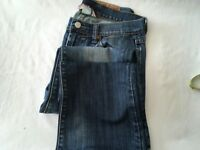 Lucky Brand Jeans Women's 4 27 Medium Wash Distressed Boot Cut