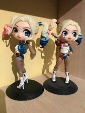 Qposket Harley Quinn mini PVC figures toy models X2
