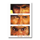 The Good the Bad and the Ugly Hot Movie Silk Canvas Poster Wall Art Print 24x36