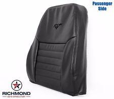 1999 2000 Ford Mustang GT V8 -Passenger Side LEAN BACK Leather Seat Cover Black