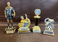 4x Schiedsrichter Pokal Fußball #1028