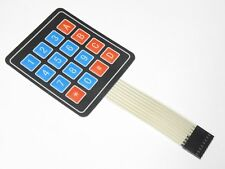 16 Tasten Matrix Folientastatur Tastatur control panel Keypad Arduino 11
