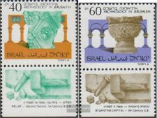 Israel 1111-1112 with Tab (complete issue) unmounted mint / never hinged 1988 Ar