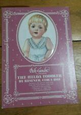 1986 Peck-Gandre The Hilda Toddler By Kestner German Paper Doll Free Shipping