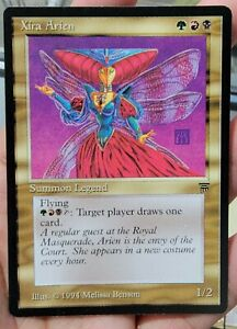 Vintage Magic | NM/MINT MTG Legends Xira Arien, Commander, NO RESERVE!!!