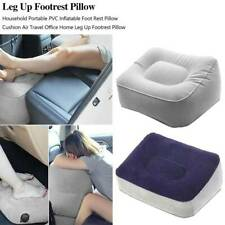 Portable Footrest Pads Inflatable Travel Foot Relax  Cushion Leg Up Foot  Stool