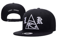 New Last Kings Adjustable Baseball Cap Snapback Hip-Hop Cool Street Black Hat 5#