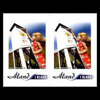 """Aland 2006 - My Stamp """"Self Adhesive"""" Postal Service Booklet - Sc 249a MNH"""
