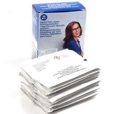30 Smear Glasses Wipes Optical Lens Glass Cleaner Cleaning Cloth Sunglasses