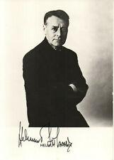 Autogramm - Helmut Lohner