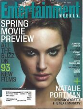Entertainment Weekly #864 Feb 17, 2006 Natalie Portman V For Vendetta