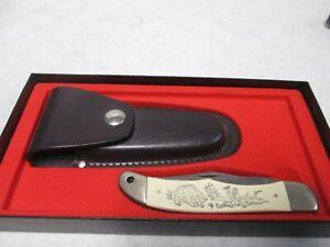Schrade Scrimshaw Pocket Knife