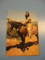 Pierre Brice Winnetou Karte.Constantin Film.Karl May.Starpostkarte 1960Jahre.E2