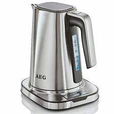 AEG 7 Series Stainless Steel Home Digital Kettle Kitchen Tea & OneCup Turbo Boil